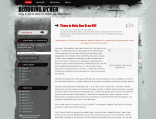 bloggingbyher.wordpress.com screenshot