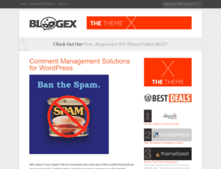 bloggingexperiment.com screenshot