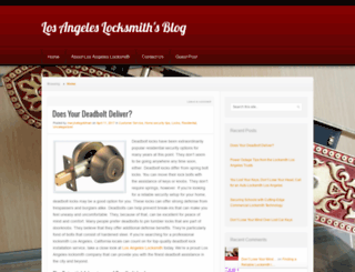 blogginglalocksmith.wordpress.com screenshot