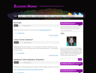 bloggingmommy35.wordpress.com screenshot
