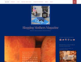 bloggingmothersmagazine.com screenshot
