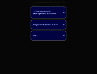 bloggingnetworkonline.com screenshot
