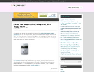 bloggingot.com screenshot