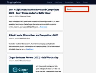 bloggingvision.com screenshot