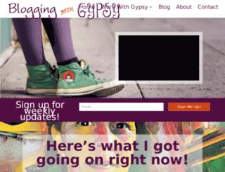 bloggingwithgypsy.com screenshot