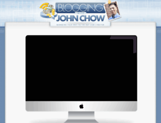 bloggingwithjohnchow.com screenshot