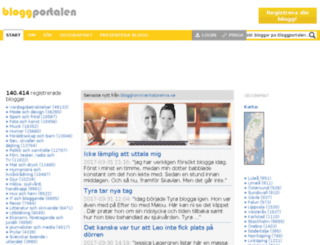 bloggportalen.se screenshot
