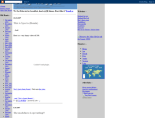 bloghogger.blogspot.com screenshot