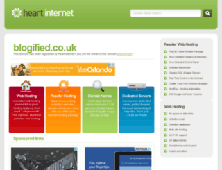 blogified.co.uk screenshot