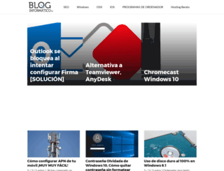 bloginformatico.es screenshot