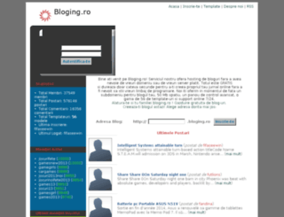 bloging.ro screenshot