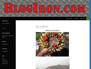 blogiron.com screenshot