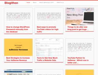 blogithon.com screenshot