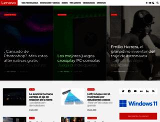 bloglenovo.es screenshot