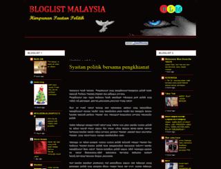 bloglist-malaysia.blogspot.com screenshot