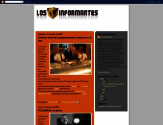 bloglosinformantes.blogspot.com screenshot