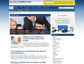 bloglovemeeting.com screenshot