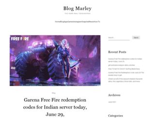 blogmarley.net screenshot