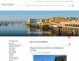 blogmonterey.com screenshot