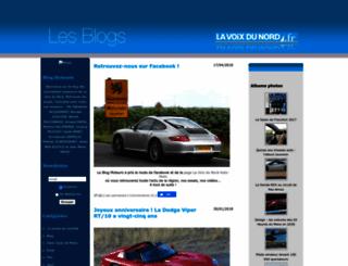 blogmoteurs.blogs.lavoixdunord.fr screenshot