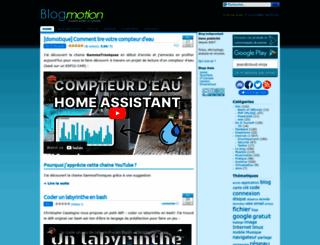 blogmotion.fr screenshot
