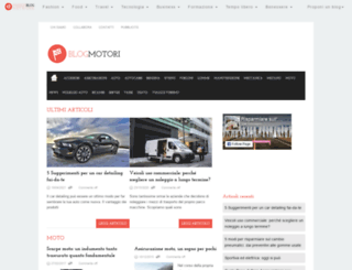 blogmotori.it screenshot