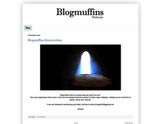 blogmuffins.blogspot.com screenshot