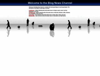 blognewschannel.com screenshot