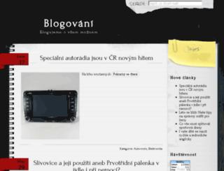 blogni.cz screenshot