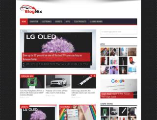 blognix.com screenshot