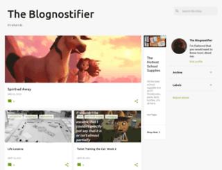 blognostifier.blogspot.com screenshot