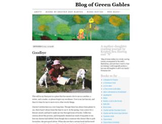 blogofgreengables.wordpress.com screenshot