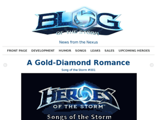 blogofthestorm.com screenshot