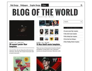 blogoftheworld.com screenshot