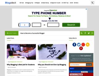 blogolect.com screenshot