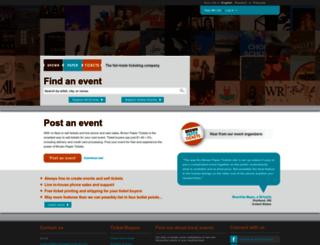 blogologues.brownpapertickets.com screenshot