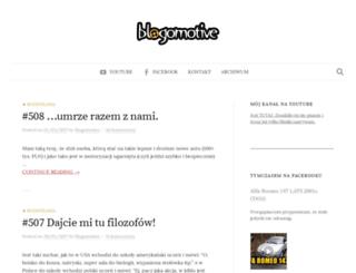 blogomotive.pl screenshot