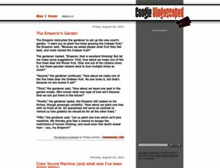blogoscoped.com screenshot