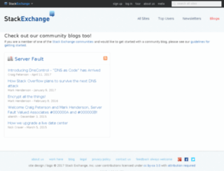 blogoverflow.com screenshot