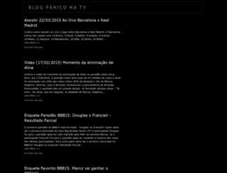 blogpaniconatv.blogspot.com screenshot