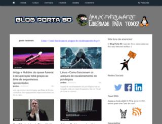 blogporta80.com.br screenshot