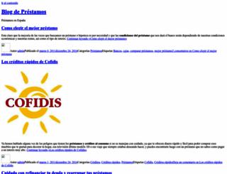 blogprestamos.es screenshot