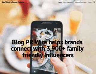 blogprwire.com screenshot