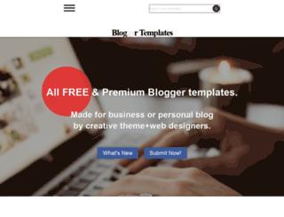 blogr-template.blogspot.in screenshot