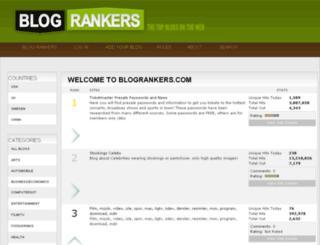 blogrankers.com screenshot