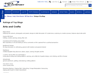 blogratings.com screenshot