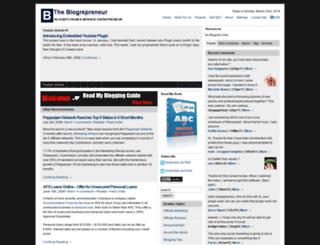 blogrepreneur.com screenshot