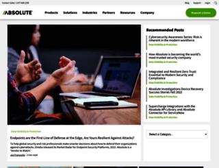 blogs.absolute.com screenshot