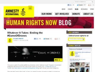 blogs.amnestyusa.org screenshot