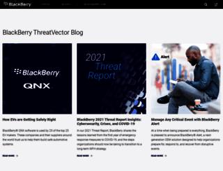 blogs.blackberry.com screenshot